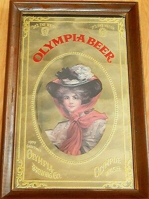 OLYMPIA BEER Mirror Sign