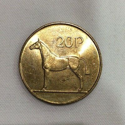 1986-1998 Irish Decimal 20p, twenty pence coin EIRE Ireland COLLECTABLE