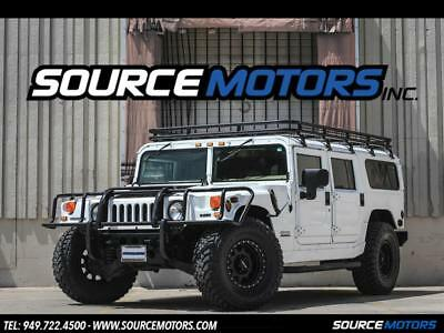 2001 Hummer H1 Wagon 4dr Turbodiesel 2001 Hummer H1 Wagon, California Car, White, Turbo Diesel, Method Wheels