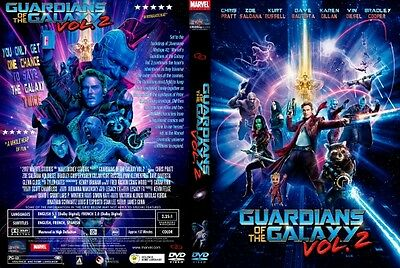 Guardians of the Galaxy Vol. 2 (DVD)   Brand New & Fast Shipping & Handling