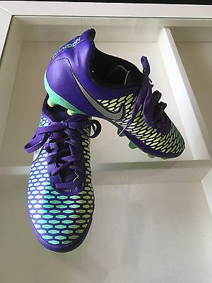 Youth Size 4.5 Nike Magista Outdoor Soccer Cleats Shoes Purple