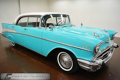 1957 Chevrolet Bel Air Car 1957 Chevrolet Bel Air 4dr Hard top