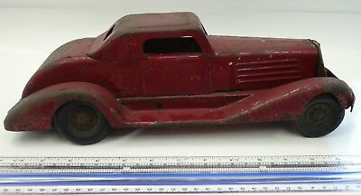 Classic Toy Car:  1930's MARX PACKARD Siren  Made in the USA