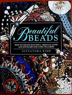 """New """"Beautiful Beads"""" by Alexandra Kidd book. Jewellery for every occasion."""