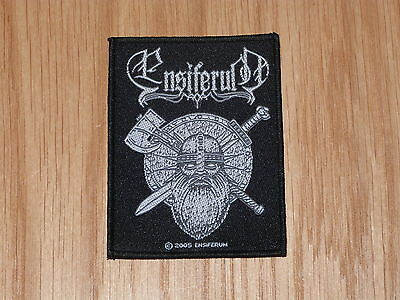 Ensiferum - Sword & Axe (New)Sew On W-Patch Official Band Merchandise