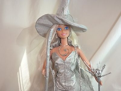 Barbie Doll Witch Queen in Silver OOAK Custom