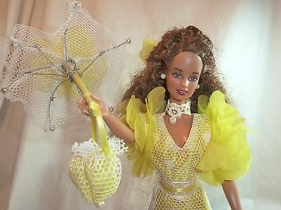 Barbie Doll Pearl Southern Belle with matching Parasol OOAK Custom