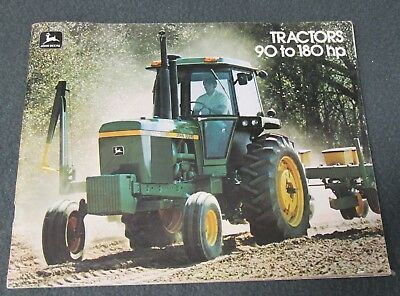 John Deere Tractors 90 To 180 Hp Brochure - 47 Pages