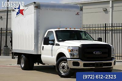 2015 Ford F-350 XL 12' Supreme  Box Truck One Owner Clean Carfax 2015 White XL 12' Supreme  Box Truck One Owner Clean Carfax!
