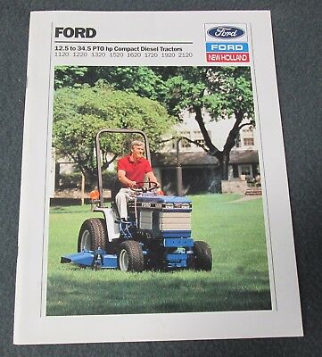 Ford 12.5 To 34.5 Pto Hp Compact Diesel Tractors Brochure - 27 Pages
