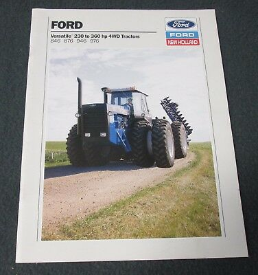 Ford Versatile 230 To 360 Hp 4Wd Tractors Brochure - 27 Pages