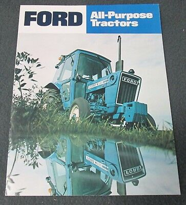 Ford All-Purpose Tractor Brochure - 15 Pages