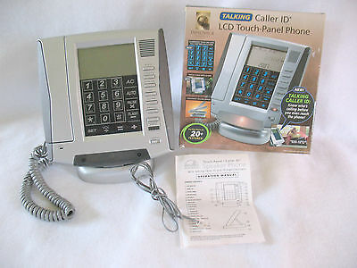 INNOVAGE TALKING CALLER ID  LCD TOUCH-PANEL PHONE Fold Down W/20 Features