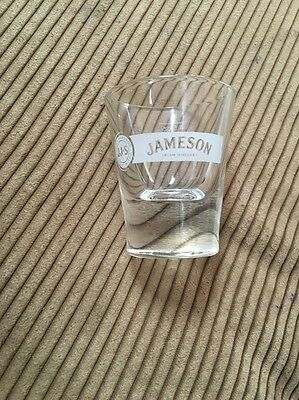 Jameson  Irish Whiskey  Heavy Duty Shot Glass  1.5 Oz 5 Available
