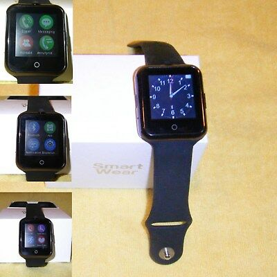 neue Smart Watch, Bluetooth 3.0, Android, Simlockfrei, TF Card bis 16GB, Kamera