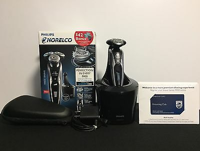 Phillips Norelco: 9300 Electric Shaver w/ Smart Clean Technology (S9311/84)