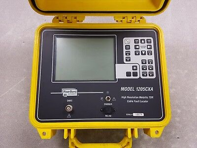 Riser Bond 1205CXA Cable Fault Locator