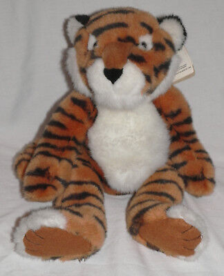 """16"""" Plush Russ Tickles Bean Bag Tiger with Hang Tags"""
