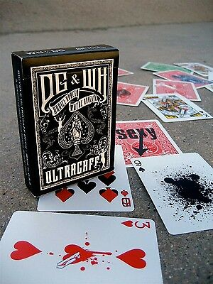 Ellusionist Ultragaff Deck (gaffed RED Back Bicycle Cards) NEW & sealed