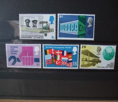 1969 - Gb Stamps - Anniversaries Events -- Mnh