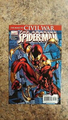 Amazing Spiderman 529 1st Print - First Iron Spider by Marvel Comics High Grade