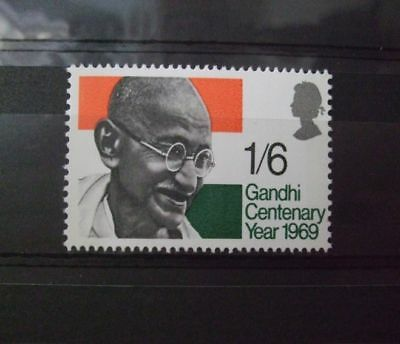 1969 - Gb Stamps -Gandhi -- Mnh