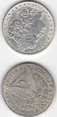 1888-S $1 Morgan Silver Dollar alll coins are HI GRADE