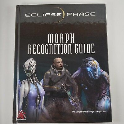 Eclipse Phase RPG: Morph Recognition Guide 21002 Hardcover