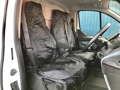 Mercedes Sprinter 313 CDI LWB Heavy Duty Waterproof Van Seat Covers Black