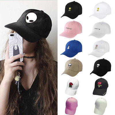 Unisex Women Men Letter Snapback Adjustable Baseball Cap Hip Hop Hat Cool Bboy