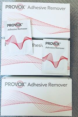 Provox Atos  adhesive removers 150 Count NEW # 8012