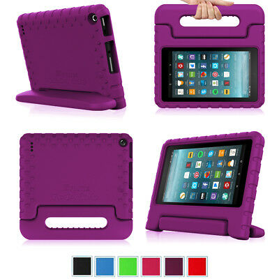 For Amazon Fire 7 2017  / HD 8 2017 / HD 10 2017 Tablet Case Cover Handle Stand