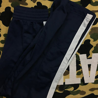 Nike Women's Navy Blue Athletic Workout Track Pants Size XL