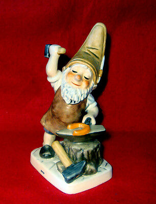 Goebel *ben The Blacksmith*  Co Boy Gnome Figurine Made In West Germany