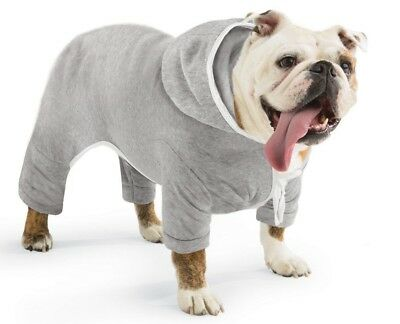 Dog Jogging Suit with Hoodie Medium Dog Sweatsuit Cozy Soft Comfy Free Shipping