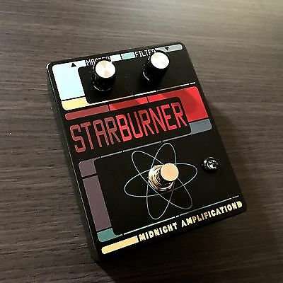 Midnight Amplification Devices - Starburner Fuzz / Filter Guitar Pedal.