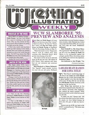 May 22 1995 Pro Wrestling Illustrated Weekly Magazine Nature Boy Ric Flair Wcw