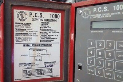 PCS 1000 plunger lift timer