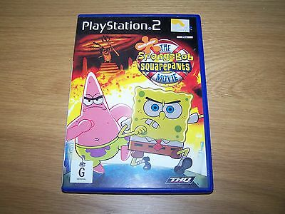 Spongebob Squarepants Movie - Playstation 2 Game - Ps2 - Complete