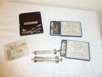 Vintage HYPODERMIC SYRINGES & NEEDLES Bulk Medical