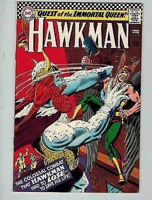 Hawkman #13 (Apr-May 1966, DC)! FN6.5+! Silver age DC beauty! WORTH A LOOK!
