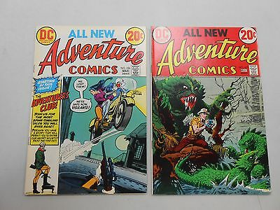 Adventure Comics lot of 2! #'s 426 and 427! FN6.0 or better! Bronze age DC!