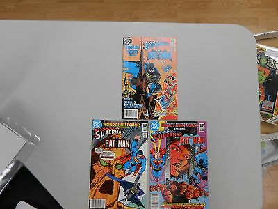 World's Finest Comic lot of 3! #'s 290-292! VF/NM9.0-! Bronze age DC beauties!
