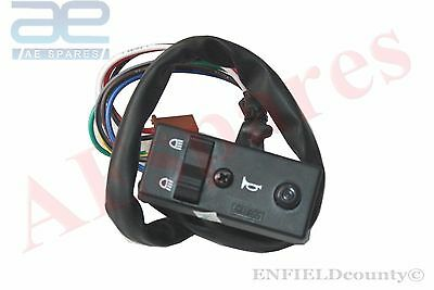 Headlight Indicator Horn Combination Switch 8 Wire Vespa Piaggio Ape @aus