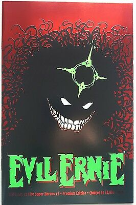 Evil Ernie vs. The Super Heroes # 1 Limited Premium Edition  Chaos Comics