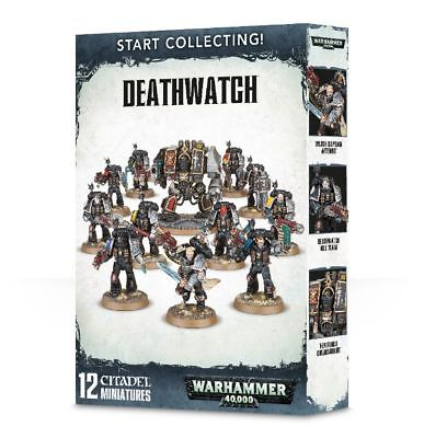Warhammer 40k - Start Collecting! Deathwatch - Amazing value,  Brand New