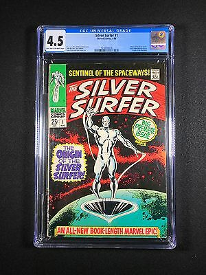 Silver Surfer #1 CGC 4.5 (1968) - New CGC Case - Origin of the Silver Surfer