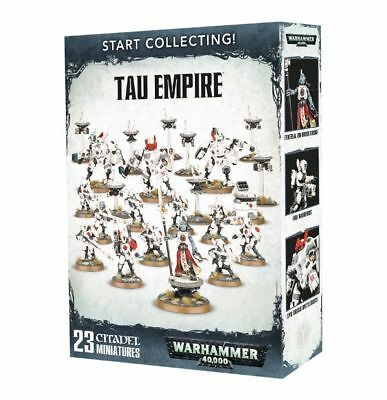 Warhammer 40k - Start Collecting! Tau Empire - Amazing value,Brand New