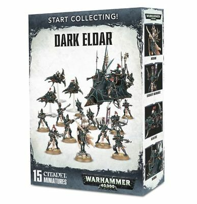 Warhammer 40k - Start Collecting! Dark Eldar -  Brand New, Games Workshop