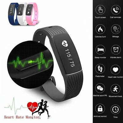 Fitness Sport Smart Watch Blood Pressure Heart Rate Fitness Activity Tracker UK